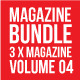 3 X Magazine Collection (Mgz Bundle Vol. 04) - GraphicRiver Item for Sale