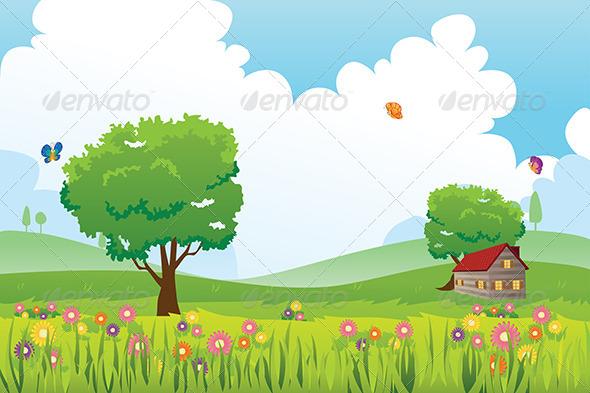 clipart printemps nature - photo #8