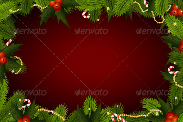 GraphicRiver Christmas Background 625669