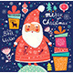 Christmas Illustration with Santa Claus - GraphicRiver Item for Sale