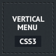 CSS3 Responsive Vertical Menu - CodeCanyon Item for Sale