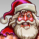 Santa Claus Muscle - GraphicRiver Item for Sale