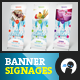 My Ice Cream Store - Banner Signage 3 - GraphicRiver Item for Sale