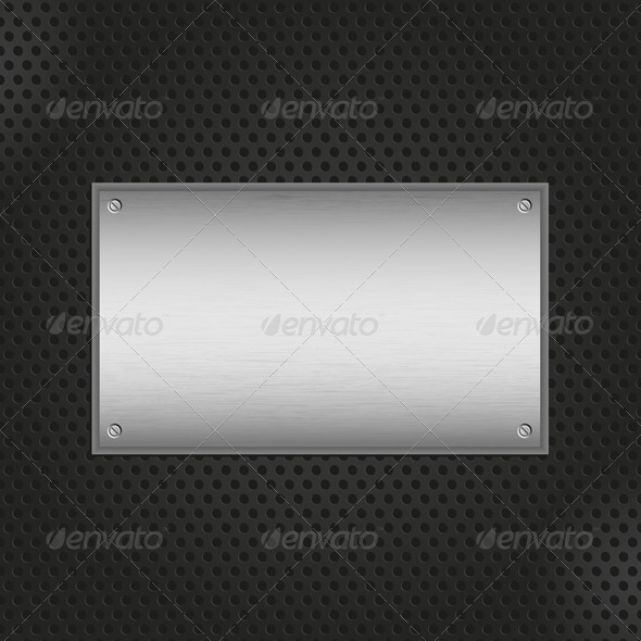 GraphicRiver Metal Plate Background 627324