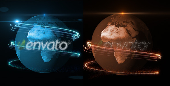 After Effects Project - VideoHive Logo Earth 590143