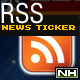 RSS Flash News Ticker - ActiveDen Item for Sale