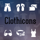 Clothicons - Fashion Icon Pack - GraphicRiver Item for Sale