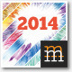 Abstract Wall Calendar 2014 A3 - GraphicRiver Item for Sale