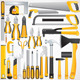 Hand Tools Kit. Isolated Vector Instruments - GraphicRiver Item for Sale