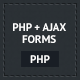 PHP Ajax Forms - CodeCanyon Item for Sale