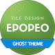 Epopeo — Tile Based Design for Ghost Platform - ThemeForest Item for Sale