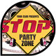 Music & Event Flyer - STOP! Party Zone - GraphicRiver Item for Sale