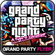 Grand Party Night Flyer - GraphicRiver Item for Sale