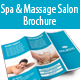Spa & Massage Salon Trifold Brochure - GraphicRiver Item for Sale