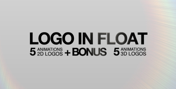 After Effects Project - VideoHive Logo In Float 625265