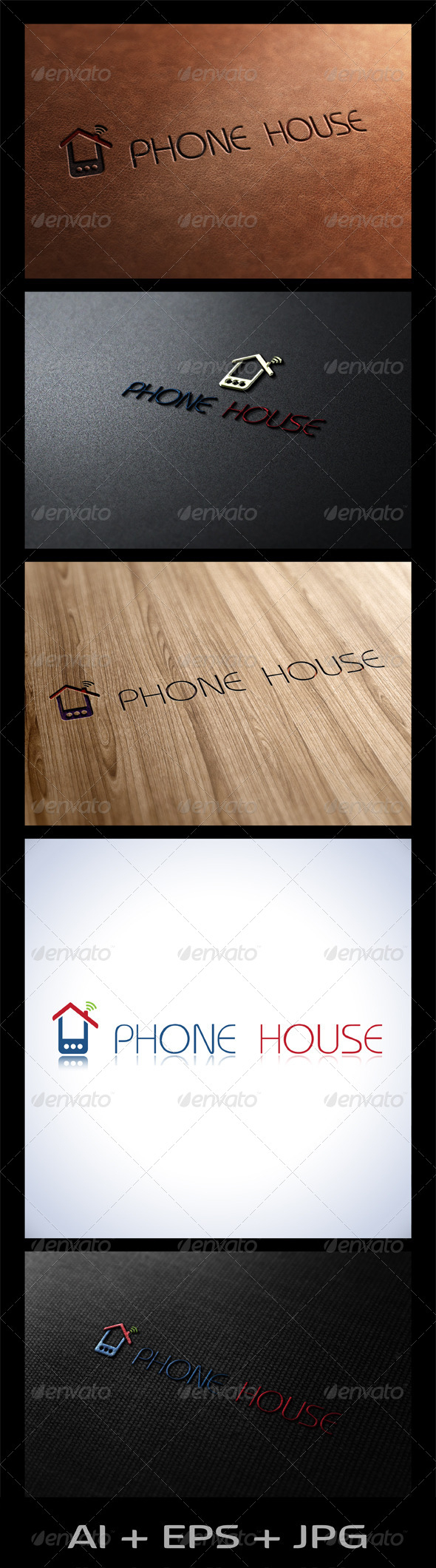 GraphicRiver Phone House 6079484