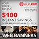 Multipurpose Savings Web Banners - GraphicRiver Item for Sale