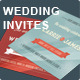 Retro Wedding Invites - GraphicRiver Item for Sale