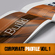 Corporate Business Profile Vol.1 - GraphicRiver Item for Sale