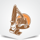 Excavator Logo - GraphicRiver Item for Sale