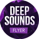 Deep Sounds - Abstract Space Flyer - GraphicRiver Item for Sale