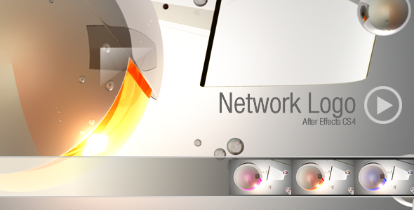 After Effects Project - VideoHive Logo Network CS4 637157