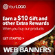 Christmas Gift Campaign Web Banners - GraphicRiver Item for Sale