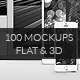 iCups - 100 3D & Flat Responsive Screen Mockups - GraphicRiver Item for Sale
