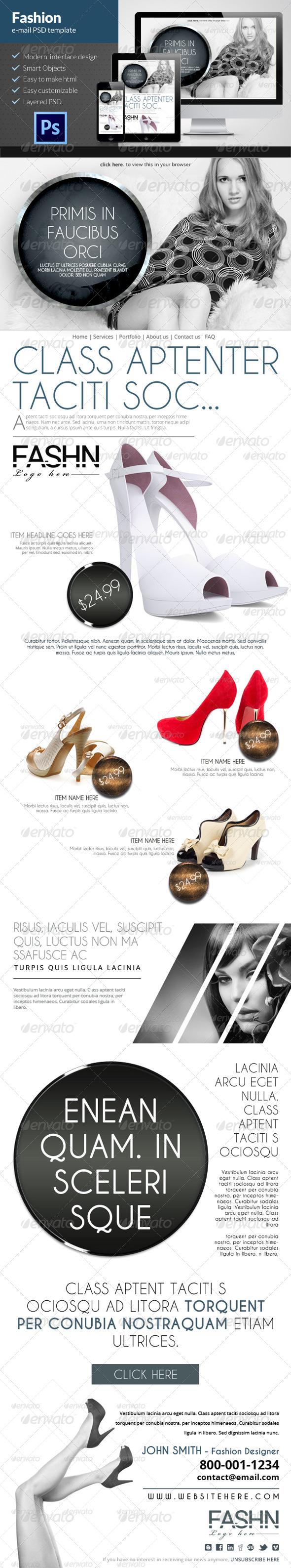 GraphicRiver Fashion E-mail Newsletter 6103848