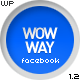 WowWay - Interactive Facebook Portfolio - ThemeForest Item for Sale