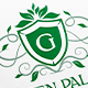 Green Palace Letter Crest Logo - GraphicRiver Item for Sale