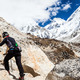 Woman hiking to Everest basecamp - PhotoDune Item for Sale