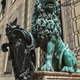 Bavarian lion statue at Munich Residenz palace - PhotoDune Item for Sale