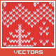 Knitted Vector Christmas Background - GraphicRiver Item for Sale