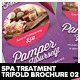 Beauty & Spa Treatment Trifold Brochure - GraphicRiver Item for Sale