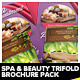 Spa Centre, Beauty & Wellness Brochure Pack - GraphicRiver Item for Sale