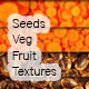 Seeds Veg and Fruit Textures - GraphicRiver Item for Sale
