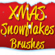 XMAS Snowflakes Brushes - GraphicRiver Item for Sale