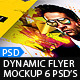 Dynamic Flyer Mockups V2 - GraphicRiver Item for Sale