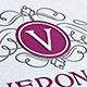 Veronica Letter Crest  Logo - GraphicRiver Item for Sale