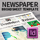 Broadsheet Newspaper Template - 24 pages - GraphicRiver Item for Sale