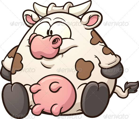 cow clipart simple - photo #29