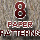 8 Tileable Paper Patterns - GraphicRiver Item for Sale