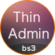 Thin Admin Template - ThemeForest Item for Sale