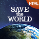 SaveTheWorld: Responsive HTML theme for Charity - ThemeForest Item for Sale