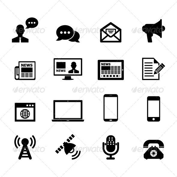 GraphicRiver Communication Icon 6160871