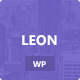 Leon. - MultiColor Responsive HTML5 WP Theme - ThemeForest Item for Sale