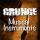 Grunge Musical Instruments - GraphicRiver Item for Sale