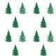 Christmas Trees, Seamless Pattern - GraphicRiver Item for Sale