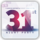 31st Night Party Flyer Template - GraphicRiver Item for Sale